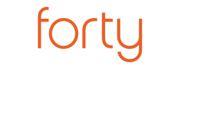 Forty Shillings Retina Logo
