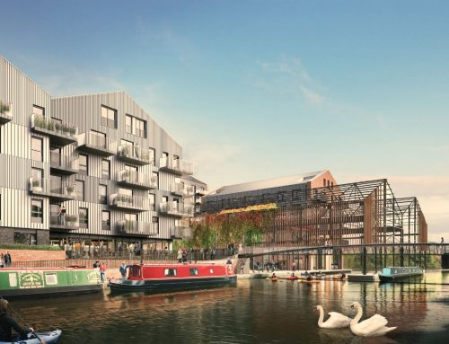 Permission granted for new homes, commercial space and public bridge at Brentford Lock West