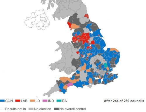 Local voters punish Tories