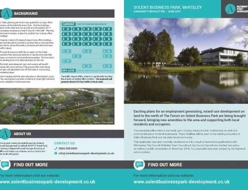 SOLENT BUSINESS PARK, WHITELEY COMMUNITY NEWSLETTER  JUNE 2019