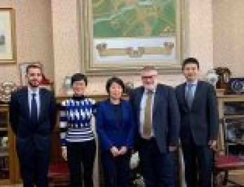 Chinese Embassy Visits Bedford